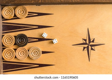 Relaxing time with playing backgammon