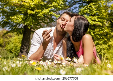 relaxing togetherness smiling funny pair