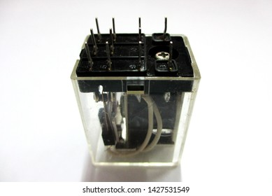 Relay 12 Volt plastic frame and copper coil
