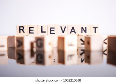 Relevant word cube on reflection