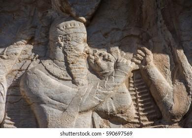 Good Rajab Eid Al-Fitr Greeting - relief-ancient-necropolis-naqshe-rajab-260nw-590697569  Photograph_119729 .jpg