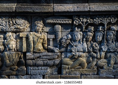 Relief of Borobudur Temple, Jogja, Indonesia 8