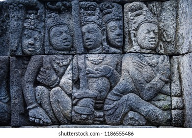 Relief of Borobudur Temple, Jogja, Indonesia 7