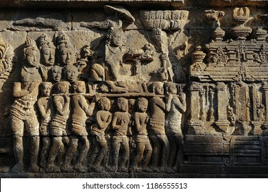 Relief of Borobudur Temple, Jogja, Indonesia 1