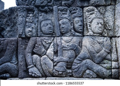 Relief of Borobudur Temple, Jogja, Indonesia 6