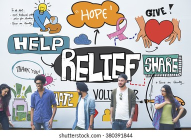 Relief Carefree Relaxation Cure Help Aid Support Concept