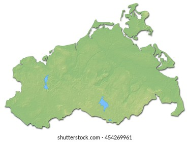 Map Of Mecklenburgvorpommern Images Stock Photos Vectors
