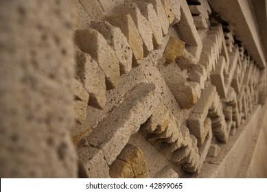 Relief at Mitla, Oaxaca, Mexico