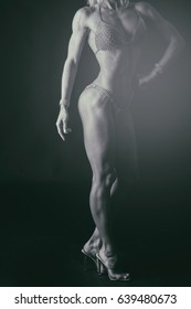relief, muscular fitness girl