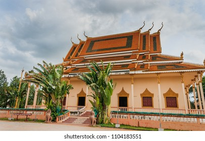 Religious architecture on wat thmei,siem reap ,Cambodia