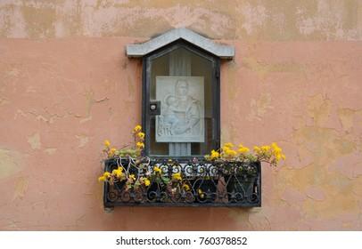 Religious Icon in Venice