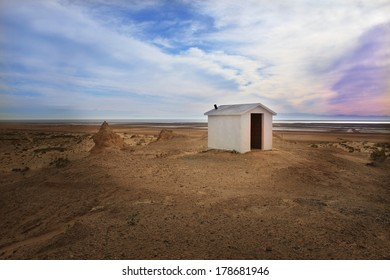 Religious Shrine in Mexican Desert