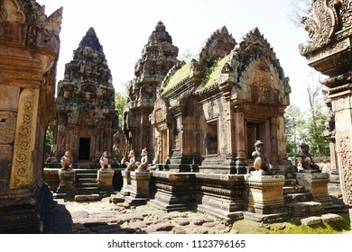Religious temples in Cambodia of Angkor Wat
