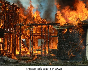 remaining house from fire