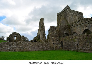 Remaining ruins of Hore Abbey in Ireland.