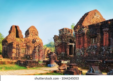 Remainings of Old hindu temples in My Son, Vietnam