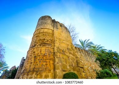 Remains of the Arab Castle, Historic and Artistic Center of Marbella, Marbella, Costa del Sol Occidental, Malaga, Andalusia, Spain, Iberian Peninsula