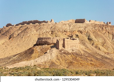 Remains of Ayaz Kala fort in Karakalpakstan, Uzbekistan