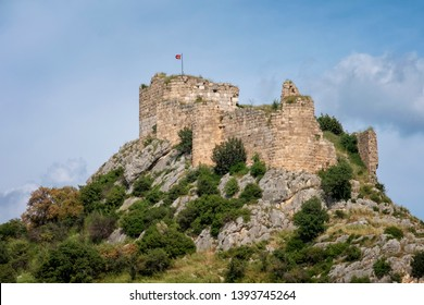 Remains Of Kastabala Castle, Osmaniye, Turkey