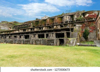 The remains Kitazawa Flotation Plant, the technniques were applied to silver and gold extraction, Sado