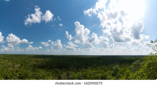 The Remains of the Mayan Civilization in Coba Mexico
