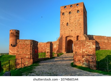 Remains of the Mazovian Duke Castle in Czersk (Poland)