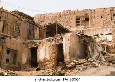 The remains of the old city of Kashgar, Xinjiang, China - August, 2019