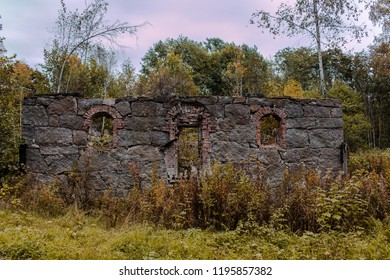 Remains of an old stone building