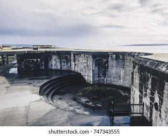 Remanants of US military fort Casey on Whidbey Island, WA