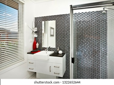 A remarkable washroom