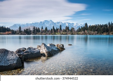 The Remarkables and Lake Wakatipu | Queenstown, NEW ZEALAND