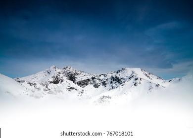 The Remarkables Mountain range in Queenstown, New Zealand