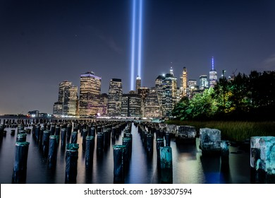In Remembrance, 9-11 Tribute Lights