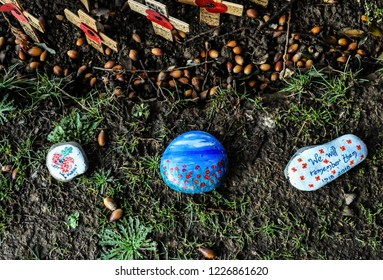 In Remembrance- Painted Stones