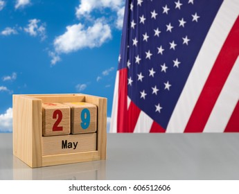Reminder for Memorial day on 29 May 2017