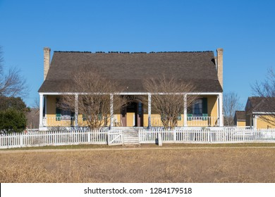 a remodeled pioneer farm house from the late 1800s