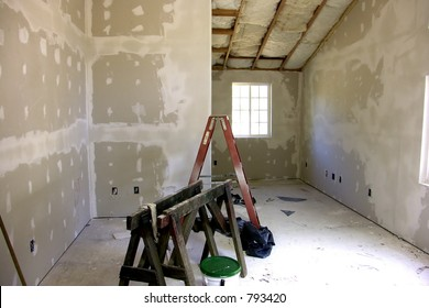 Remodeling - New Sheetrock, Drywall