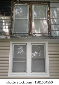 Remodeling window repair before and after