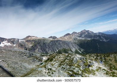 Remote area of the Purcell Mountains, in British Columbia, Canada