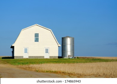 remote barn and silo