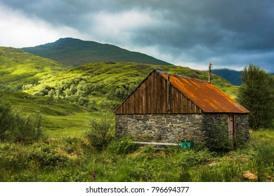 Remote Byre with Corrugated iron roof