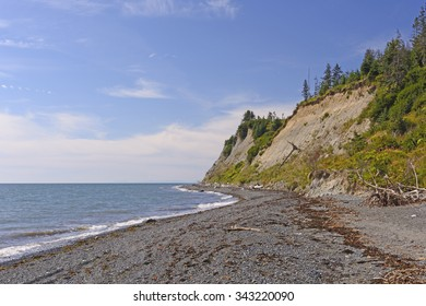 Remote Coast on a Sunny Day near Homer, Alaska