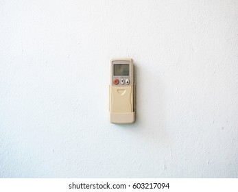 Remote control for air conditioning.