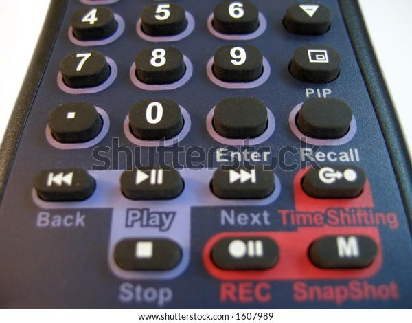 remote control detail
