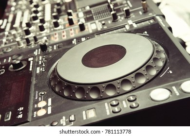 Remote control for DJs