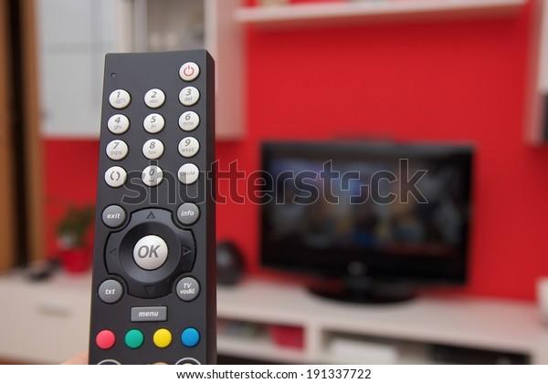 Remote control of internet TV
