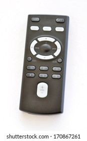 Remote control. Isolated on white background