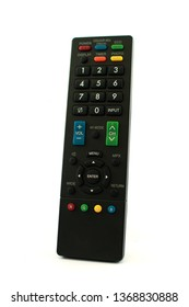 remote control isolated with white background