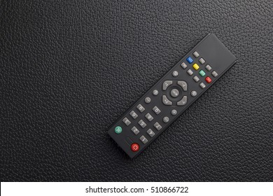 Remote control over a black table