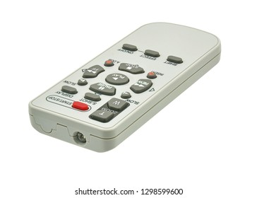 remote control unit on a white background